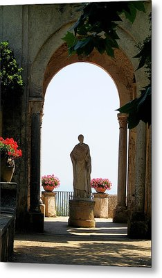 Entrance To The Terrace Of The Infinity Metal Print by Vikki Bouffard