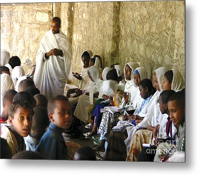 Ethiopian Orthodox Teachings Metal Print by Cherie Richardson