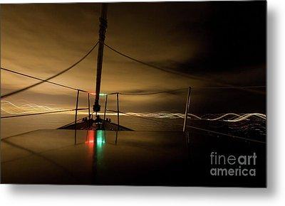Evening Sail Metal Print by Matt Tilghman