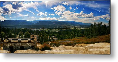 Fairmont Hot Springs Bc Metal Print by JM Photography