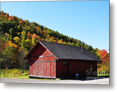 Fall Color Pickens West Virginia Metal Print by Thomas R Fletcher