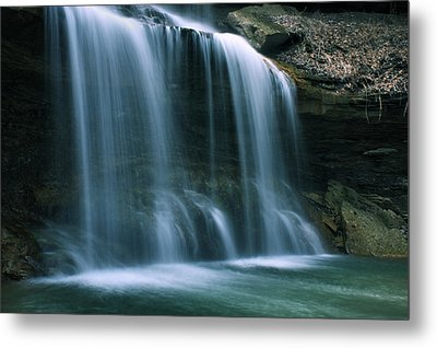 Falls Bottom Metal Print