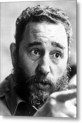 Fidel Castro, Circa 1977 Metal Print by Everett