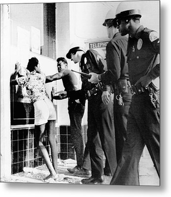Fifth Day Of The 1965 Watts Riots Metal Print
