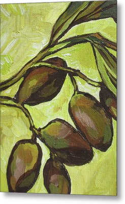 Figs Metal Print by Sandy Tracey