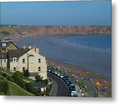 Filey Metal Print