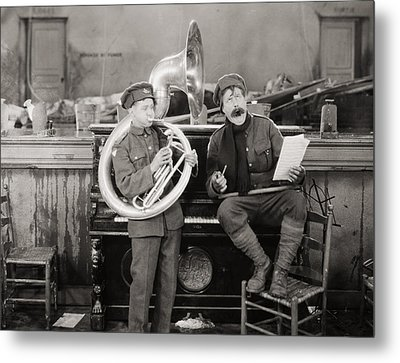 Film: The Better Ole, 1926 Metal Print by Granger