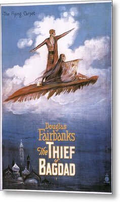 Film: The Thief Of Bagdad: Metal Print by Granger