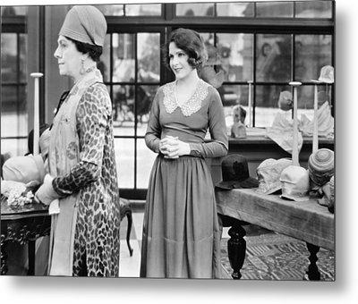 Film: Woman Disputed, 1928 Metal Print by Granger