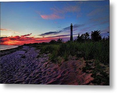 Fire Island Sunrise Metal Print by Rick Berk