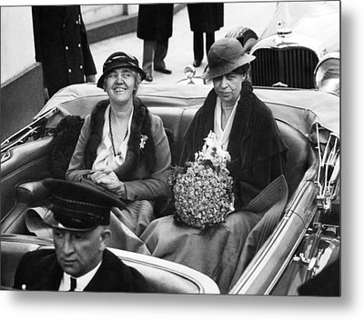 First Ladies Car At The 1933 Metal Print by Everett