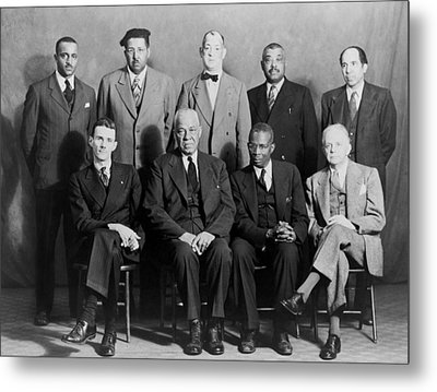Five African American Defendants Metal Print by Everett