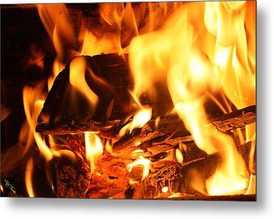 Flames 1 Metal Print