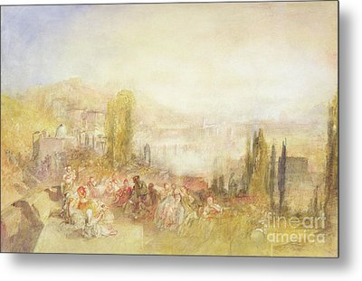 Florence Metal Print by Joseph Mallord William Turner