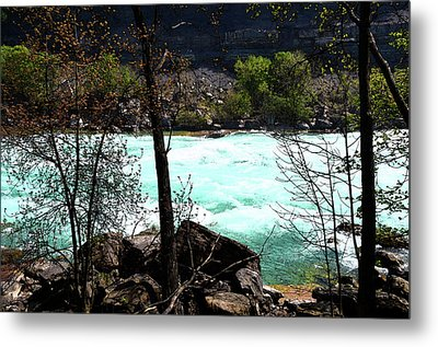 Metal Print featuring the photograph Flowing Streams by Pravine Chester