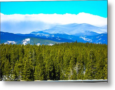 Metal Print featuring the photograph Fog In The Rockies by Shannon Harrington