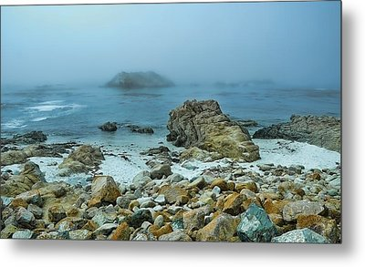 Metal Print featuring the photograph Foggy Morning On The Coast by Renee Hardison