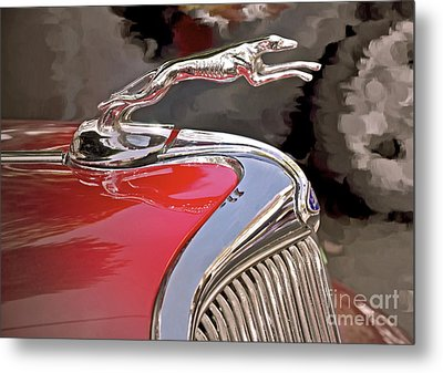 Ford Hound Metal Print by Gwyn Newcombe