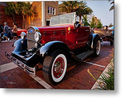 Ford Roadster Metal Print by Christopher Holmes