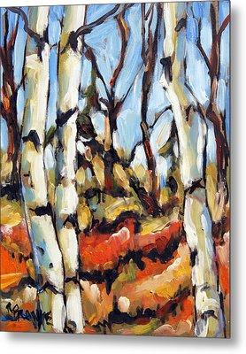 Forest Edge By Prankearts Metal Print by Richard T Pranke