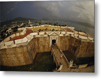Fort San Diego Warded Off Pirates Metal Print by Sisse Brimberg