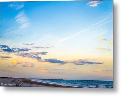 Metal Print featuring the photograph Forte Clinch Pier by Shannon Harrington