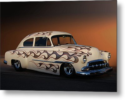 Metal Print featuring the photograph Forty-nine Fastback by Bill Dutting