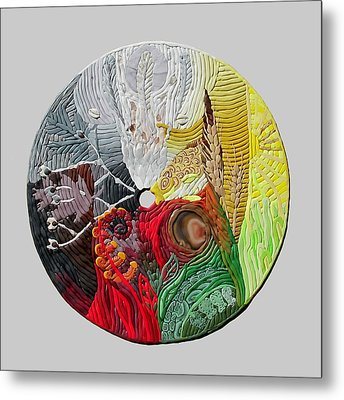 Four Directions  2 Metal Print by Arla Patch