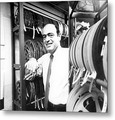 Fred Freed In The 1960s Metal Print by Everett