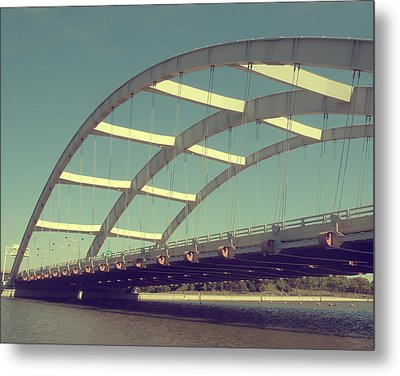 Freddie Sue Bridge Metal Print by Kristen Cavanaugh