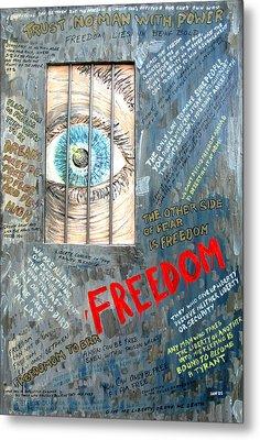 Freedom Metal Print by Ian  MacDonald