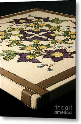 French Floral - Close-up Metal Print
