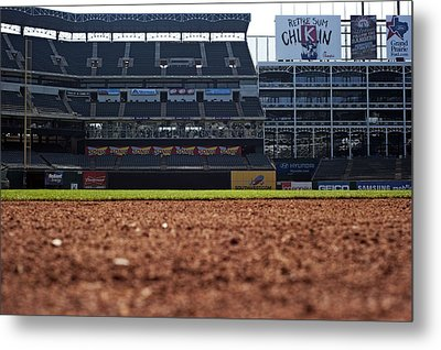 From The Dugout Metal Print by Malania Hammer