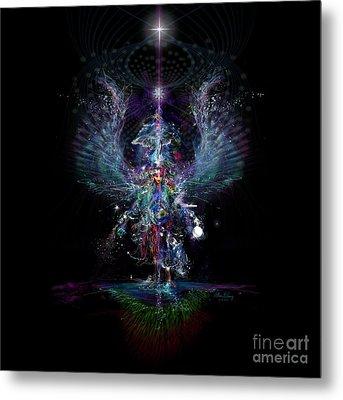 Gaia Birthing New Earth Metal Print