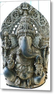 Ganesha Metal Print by James Mancini Heath