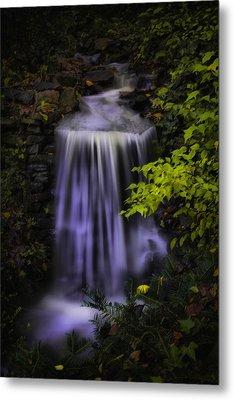 Garden Falls Metal Print by Lynne Jenkins
