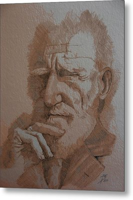 George Bernard Shaw Metal Print by Ray Agius