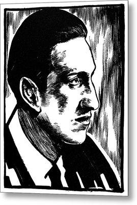 George Gershwin Metal Print by Granger