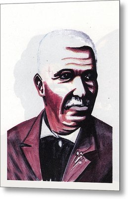 Georges Washington Carver Metal Print by Emmanuel Baliyanga