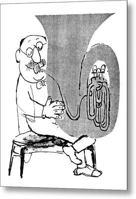Gerard Hoffnung (1925-1959) Metal Print by Granger