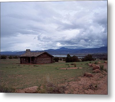 Ghost Ranch Vista Metal Print
