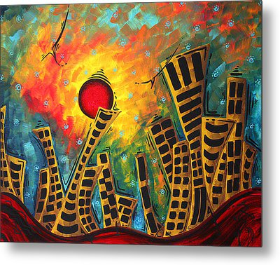 Glimmer Of Hope By Madart Metal Print