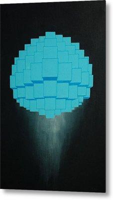 Globule Metal Print by Michael Mizenko
