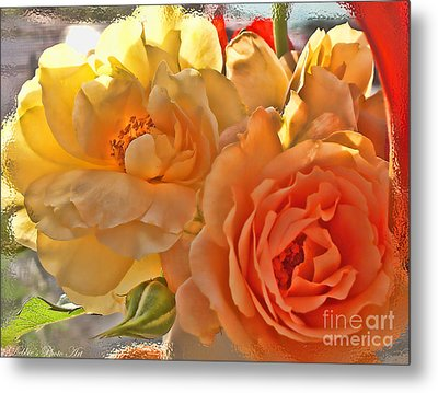 Metal Print featuring the photograph Golden Light by Debbie Portwood