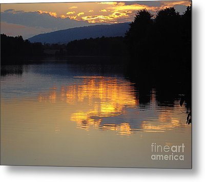 Golden Sunset Metal Print by Vilas Malankar
