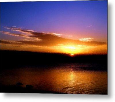 Gorgeous Sunset  Metal Print by Karen M Scovill