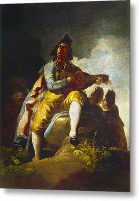 Goya: Guitarist Metal Print by Granger