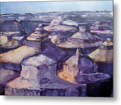 Grand Canyon Metal Print by Regina Ammerman