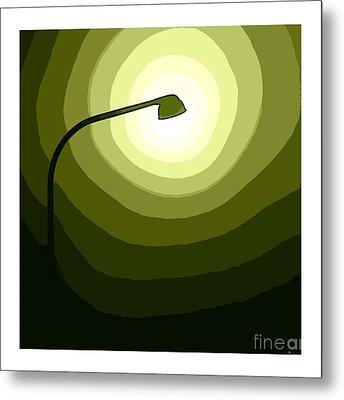 Green Is Hope Metal Print by Steve K