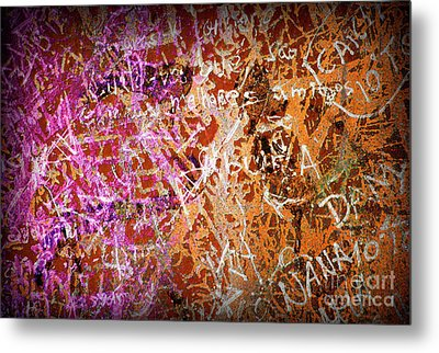 Grunge Background 3 Metal Print